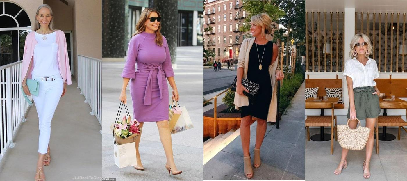 Fashion Tips For Over Women Over 40